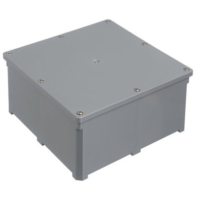 Lamson & Sessions Carlon Lamson and Sessons E989NNJ-CAR 4 inch X 4 inch X 2 inch Molded Nonmetallic Junction Box sup
