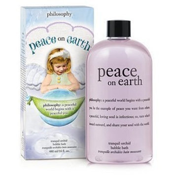 Philosophy, Inc, us beauty, PHIGH Philosophy Bubble Bath, Peace On Earth, 16 Ounces