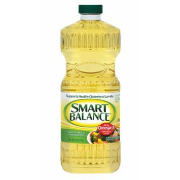 Smart Balance Omega Blend Cooking Oil, 48 Ounce (Pack of 9)