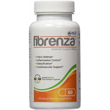 Fibrenza Systemic Enzyme 500mg 60 Capsules