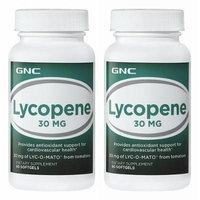 GNC Preventive Nutrition® Lyc-O-Mato® Lycopene From Tomatoes 60 Softgels, Single & Multi Packs (Two Bottles each of 60 Softgels)