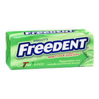 Wrigley's Freedent Gum Peppermint - 15 CT