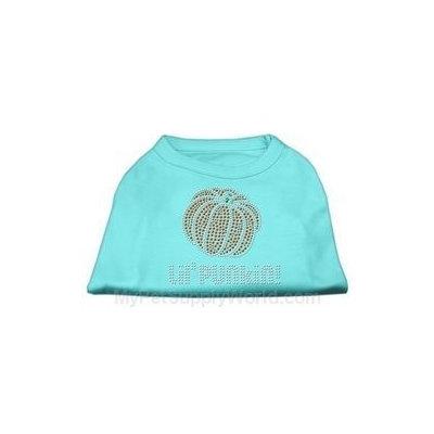 Mirage Pet Products 521303 MDAQ Lil Punkin Rhinestone Shirts Aqua M 12