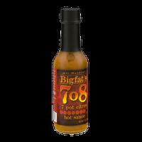 Bigfat's 708 Hot Sauce 7 Pot Citrus
