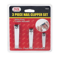 Jmk Nail Clipper Carded 3 Pc.