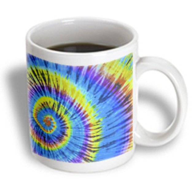 Recaro North 3dRose - Florene Sixties - Hippy Days R Here Again - 15 oz mug