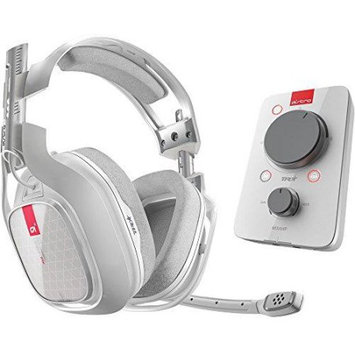 Skullcandy Inc. Astro Gaming - A40tr Wired Surround Sound Gaming Headset + Mixamp Pro For Xbox One And Windows - White