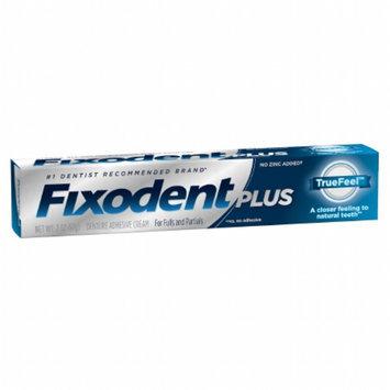 Fixodent Plus TrueFeel Denture Adhesive Cream, 2 oz
