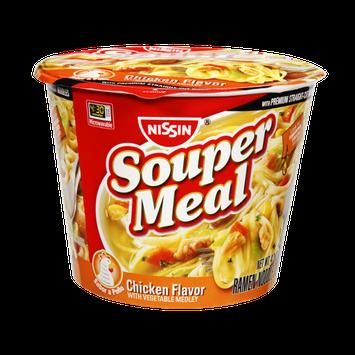 Nissin Souper Meal Chicken Vegetable Medley Ramen Noodle Soup