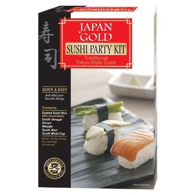 Japan Gold Sushi Party Kit, 20.6-Ounce (Pack of 2)