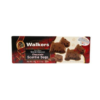 Walkers Shortbread Chocolate Scottie Dogs, 3.9 oz