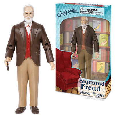 Accoutrements Sigmund Freud Action Figure