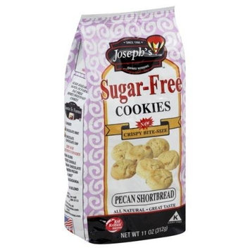 Joseph's Sugar-Free Cookies Pecan Shortbread -- 11 oz
