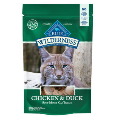Blue Buffalo BLUE WildernessTM Grain Free Soft-Moist Cat Treats