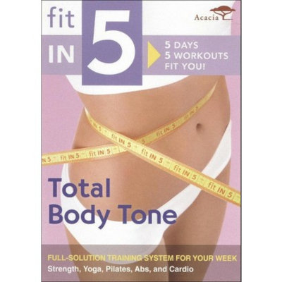 Acacia Fit in 5: Total Body Tone - DVD