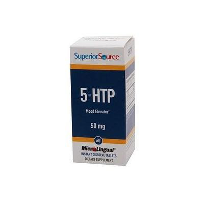 Superior Source 5-HTP 50mg, Disolve Tablets 60 ea