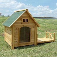Mid-america Outdoor Supply K-9 Kastle Large Dog House