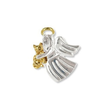 D.m. Merchandising Wings and Wishes Angel Tac Pin, Angel for Cat Lover