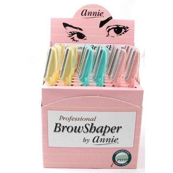 Annie Professional Eyebrow Shaver Razor 36 Razors