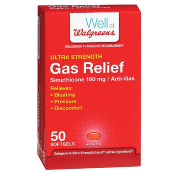 Walgreens Ultra Strength Gas Relief Softgels