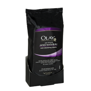 Olay Anti-Wrinkle Wet Cleansing Cloths