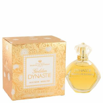 Golden Dynastie for Women by Marina De Bourbon Eau De Parfum Spray 3.4 oz