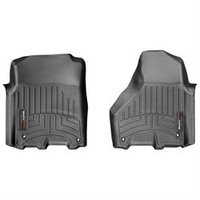 WeatherTech Custom Car FloorLiner - Dodge RAM Truck 2500/3500 Crew Cab - 2012-2013 - 1st Row Black
