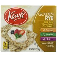 Kavli Crispbread, Golden Rye, 5.29-Ounce Boxes (Pack of 12)