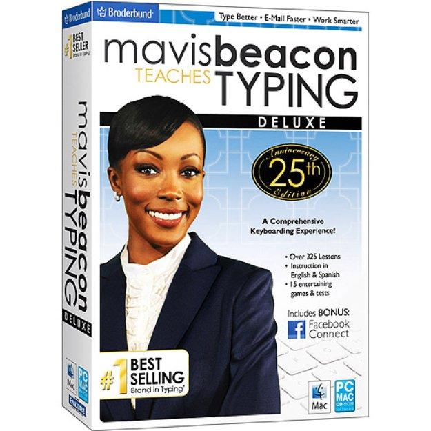 Mavis Beacon Teaches Typing Deluxe 25th Anniversary Edition (PC and Mac)