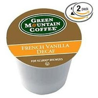 Green Mountain Coffee K-Cups - French Vanilla Decaf - 24ct Box