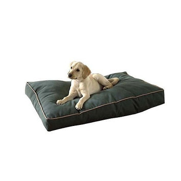 Boomer George Carolina Pet Company Indoor Outdoor Jamison Tan Faux Gusset Dog Bed