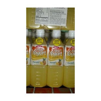 OKF: Aloe Pineapple Yogort Drink 10/16.9 Oz. Case