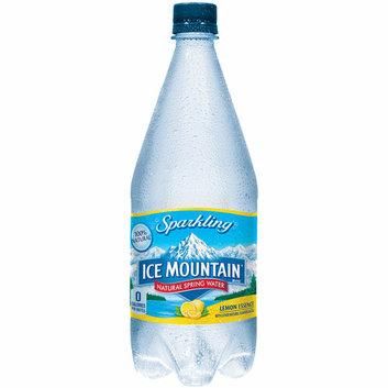 Ice Mountain Lemon Essence Sparkling Natural Spring Water