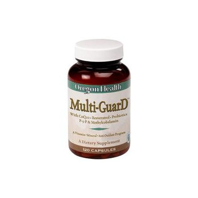 Oregon Health - Multi-GuarD with CoQ10 - 120 Capsules CLEARANCE PRICED.