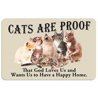 Kohls Cats Are Proof Floor Mat