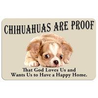 Kohls Chihuahuas Are Proof Dog Floor Mat