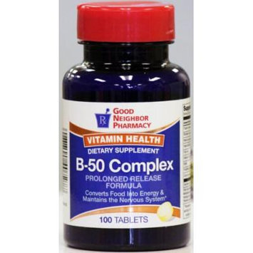 GNP B-50 Complex Prolonged Release Formula (100 tablets)