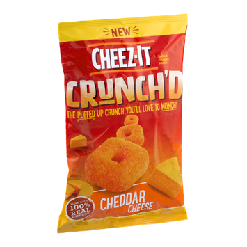 Cheez-It® Baked Cheese Snack Crunch'D Cheddar Cheese
