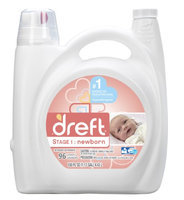 Procter & Gamble Dreft Liquid Detergent - 150 Oz (96 Loads)