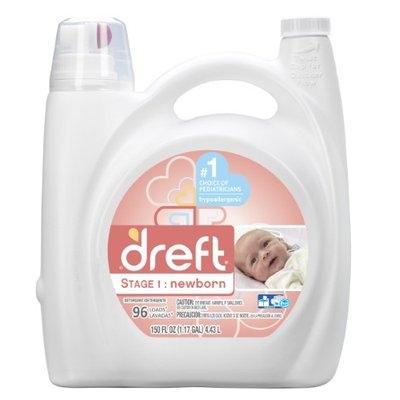 Procter & Gamble Dreft Liquid Detergent - 150 Oz (96 Loads)
