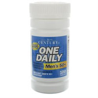21st Century Healthcare One Daily 50+ Men's, 100 Tablets, 21st Century Health Care