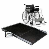 Detecto Digital Geriatric Stationary Wheelchair Scale