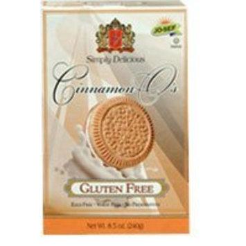 Josef's Gluten Free Jo-sef's Sandwich Cookies Gluten Free Cinnamon O's -- 8.5 oz