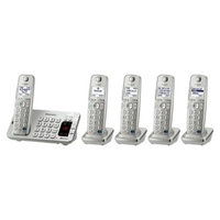 Panasonic DECT 6.0 Plus Cordless Phone System (KX-TGE275S) with