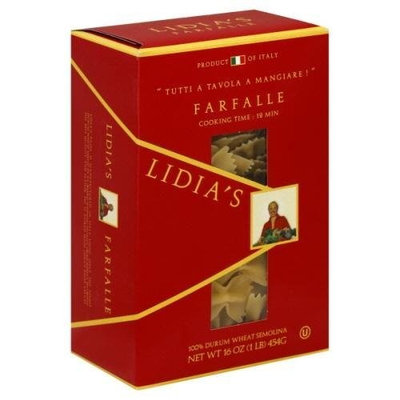 Lidia s Lidia?s Farfalle Pasta, 16-Ounce (Pack of 12)
