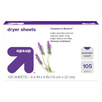 up & up Lavender Scent Dryer Sheets 105 ct