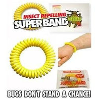 Evergreen Research Natural Insect Repelling SuperBands Bracelets (Pack of 50)