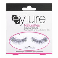 (Pack of 5 Pairs) Eylure Naturalites Natural Texture #155 False Eyelashes, Black