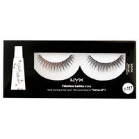 NYX Fabulous Eye Lashes, Posh, 0.544 Ounce