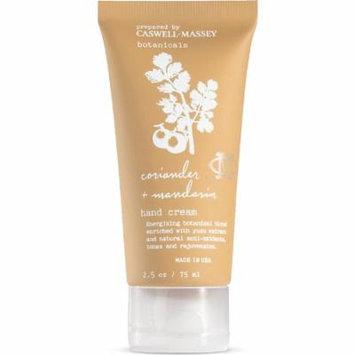Caswell-Massey Revitalizing Hand Cream, Coriander and Mandarin, 2.5 Ounce